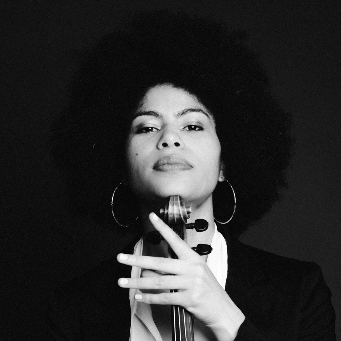 portrait artiste en studio - violoniste