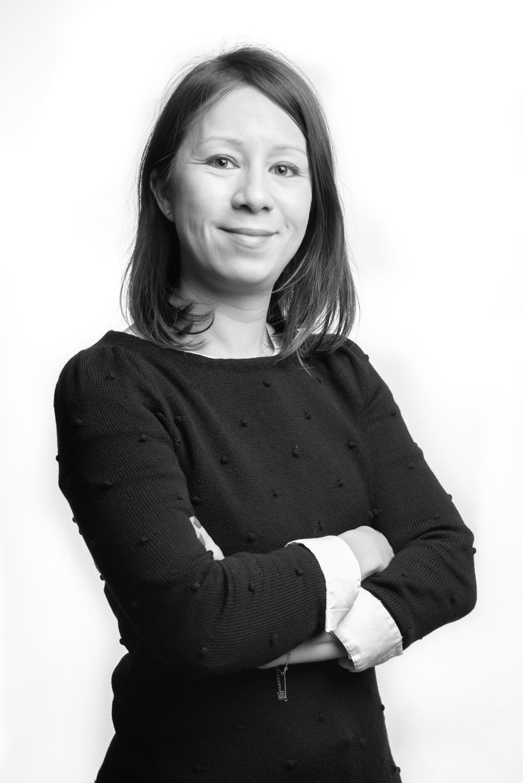 Photographie Corporate femme d'affaire en noir et blanc - Taupinprod - Veronique Taupin photographe Paris